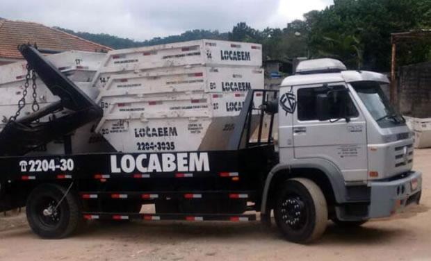 Caminhão de Caçambas Zona Norte SP